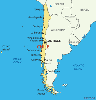 ChileMapwithCities